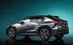 Toyota bZ4X, découvrez le nouveau concept SUV électrique de Toyota