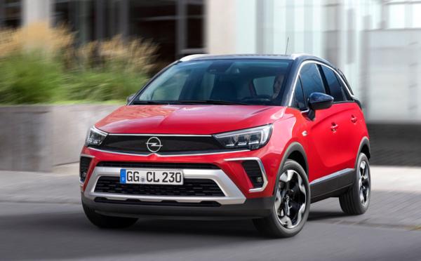 Le tout nouveau Opel Crossland 2021