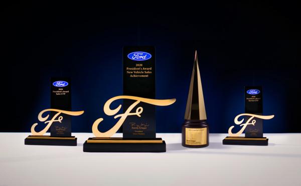 Découvrez les lauréats 2020 du Chairman's awards de Ford