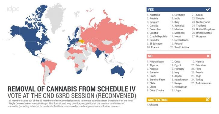 Maroc pour le retrait du cannabis de la liste des drogues dangereuses