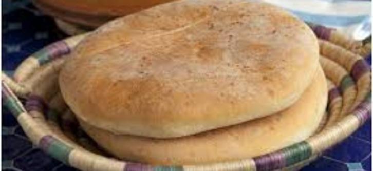 Pain rond traditionnel Rbati, Mzouaq ou de Campagne