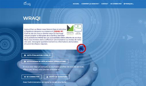 "Administration digitale : ""Wraqi"" franchit la barre des 4.000 inscrits"
