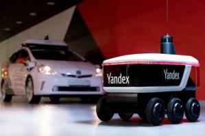 Des robots livreurs dans les rues de Moscou