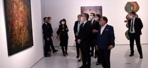 Gérald Darmanin salue le grand effort du souverain pour la promotion de la culture