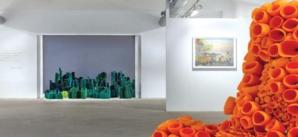 Casablanca : des jardins en textile exposé à la Loft Art Gallery