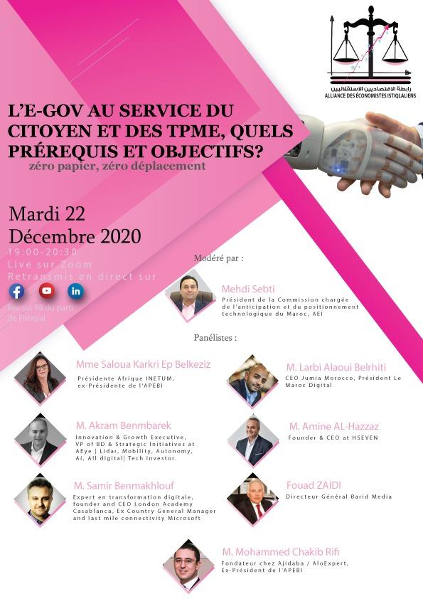 L'E-Gov au service du citoyen et des TPME, quels prérequis et objectifs ?