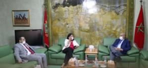 Ould Errachid accueille des responsables du CNDH à Laâyoune