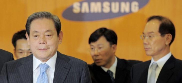 Samsung annonce le décès de son patron, Lee Kun-hee