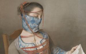 Les grands portraits de l'histoire de l'art portent un masque, sur Instagram