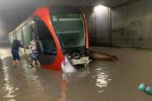 Il pleut sur Casablanca , la métropole inondée