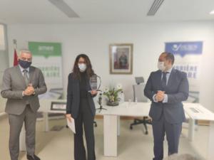 AMEE et IRESEN : Remise de prix du concours pour le design d'ombrières solaires