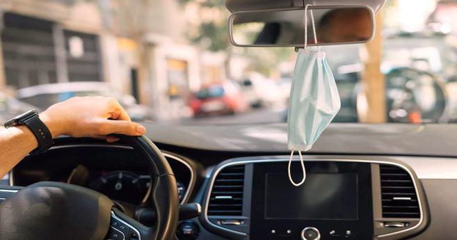 Coronavirus : En voiture, pensez à ouvrir les fenêtres