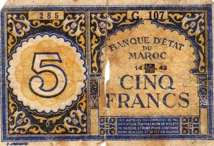 Maroc : L'histoire par les billets de banque