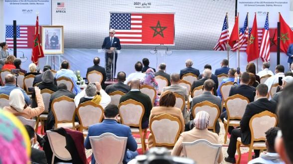 Le consulat US à Dakhla va encourager l'investissement