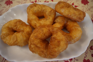 Beignets traditionnels, « sfenje »