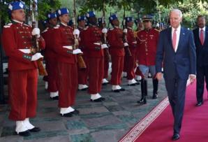 Joe Biden, lors de sa visite au Maroc, en 2014, en tant que vice-président des Etats-Unis