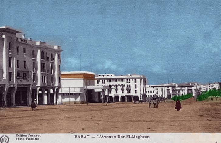 Rabat en voiture et en couleur