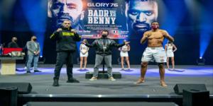 Badr Hari veut combattre à nouveau contre le roumain Benjamin Adegbuyi.