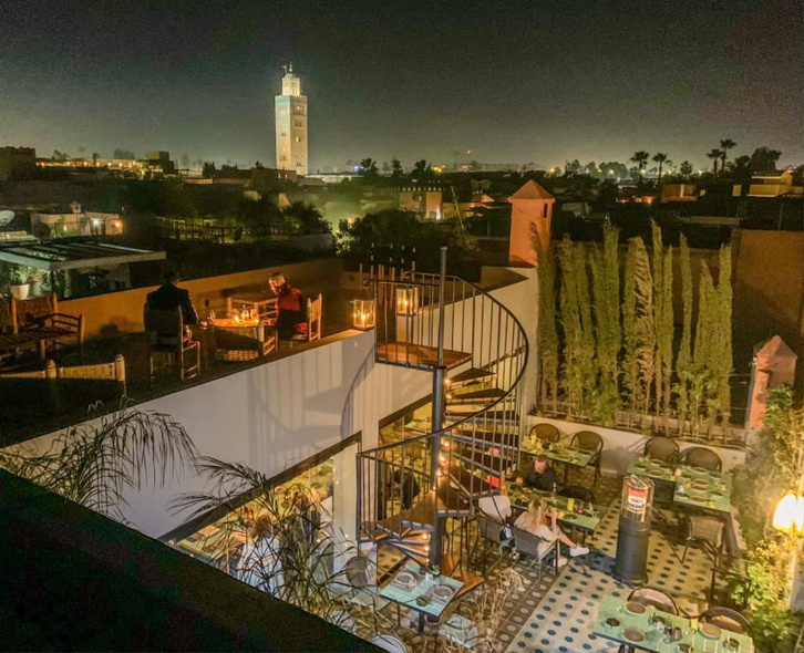 Pour préparer notre retour : Top des rooftops de Marrakech !