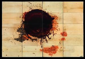 Exposition de l'artiste Larbi Cherkaoui