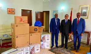 Le Maroc offre du matériel informatique à la task force du ministère des Affaires étrangères de la RDC