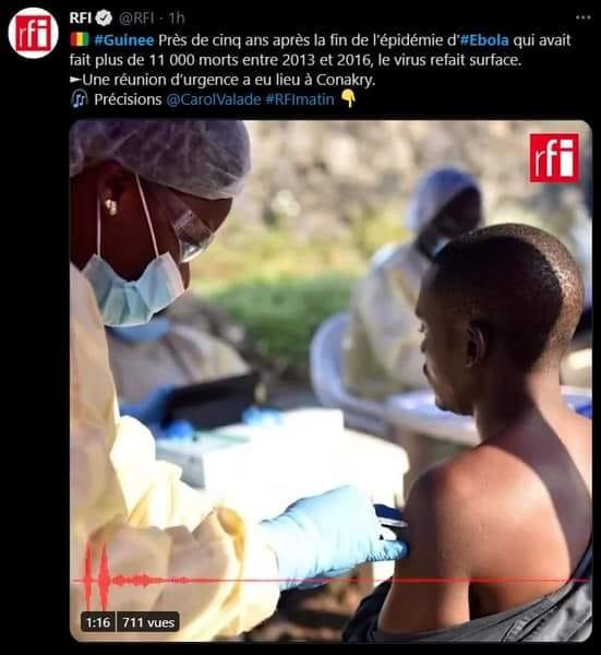 Le Wydad menacé par Ebola