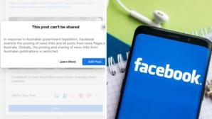 Facebook a banni les articles de presse en Australie