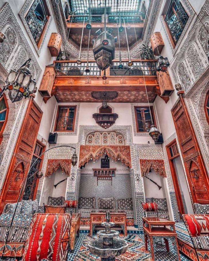 Les mille et un Riad du Maroc