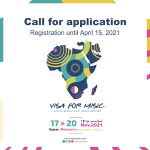 Visa For Music 2021 : lancement de l'appel à candidatures