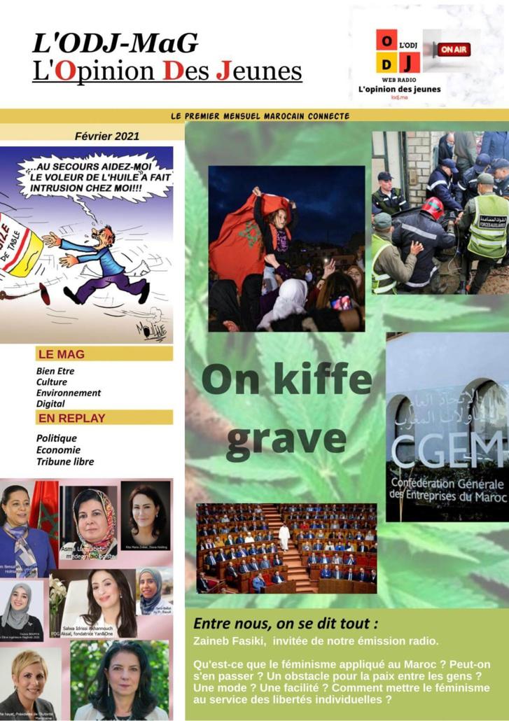 Parution de L'ODJ Web MaG Février 2021