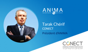 Tarak Chérif, nouveau Président d'ANIMA Investment Network