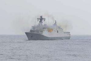 "La frégate Sigma de la Marine Royale, le ""Tarek Ibn Zayed"" (613)"