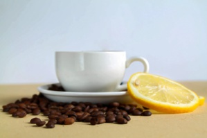 Tendance : le mélange café-citron