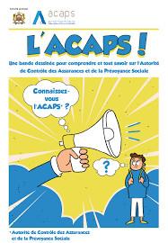 L'ACAPS lance des Bandes Dessinées pour sensibiliser les plus jeunes au monde de l'assurance