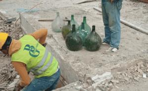 Découverte de bouteilles en verre qui remontent au XIVe siècle à Tanger