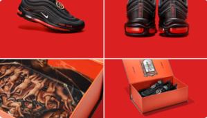 Nike sort des chaussures fabriquées avec du sang humain !