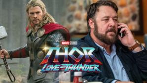 Grande nouvelle pour les fans de Thor Love and Thunder  : Russell Crowe rejoint le casting