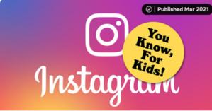 """Facebook lance """" Instagram for kids """" pour les moins de 13ans."""