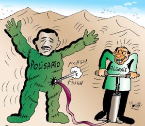 Caricature de Mohammed Yassir Mouline (L'ODJ)