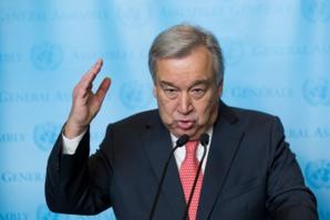"""Le Secrétaire général de l'ONU, Antonio Guterres ; """"L'affaire du Sahara ? Ya Basta !"""""""