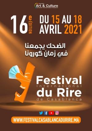 Le festival du rire de Casablanca 2021 sera en distanciel