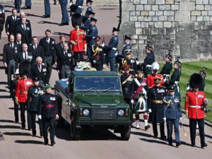 Ultime hommage de la famille royale britannique au prince Philip