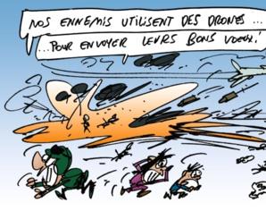 Achtung ! Drones marocains...