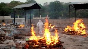 Immolation de victimes du Covid en Inde