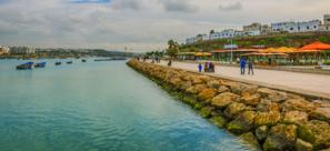 Démolition du club nautique de la Marina de Bouregreg à Rabat