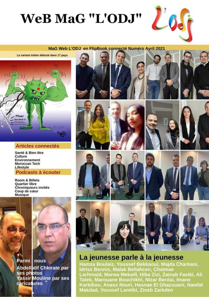 Parution du Web MaG L'ODJ Numéro 6 - Avril 2021