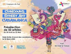 « Street Art Casablanca » lance son concours du 30 Avril au 22 Mai