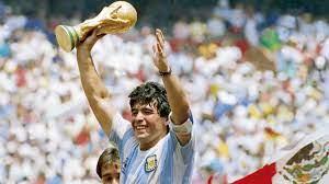 Légende : Nous avons tous en nous quelque chose de Maradona