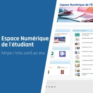 Nouvel Espace Numérique de Travail « ETU 4.0 »