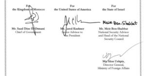 USA-Maroc : la déclaration tripartite publiée officiellement par le gouvernement Biden